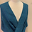 Thumbnail: Handwoven Baby Alpaca and Silk Mobius Shawl in shades of blue