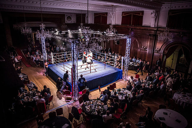 Legacy Boxing's Finance Fight Night