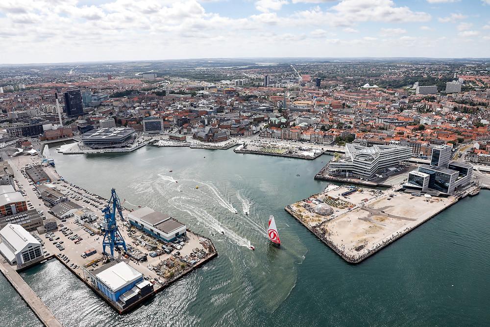round Denmark race Denmark adventure sailracing shorthand singlehand