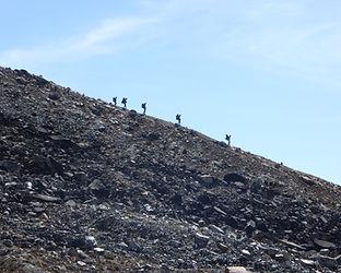 walkers down a hill .JPG
