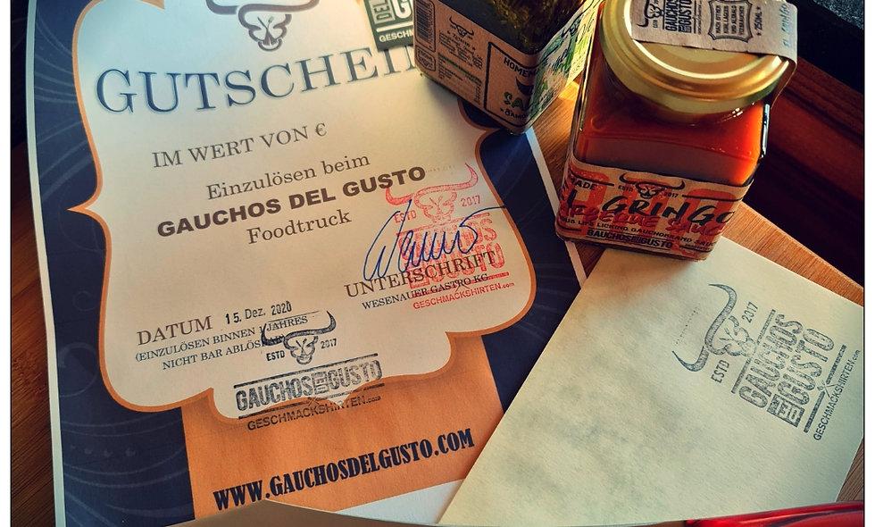 Gauchos Geschenks-GUTSCHEIN € 20.-