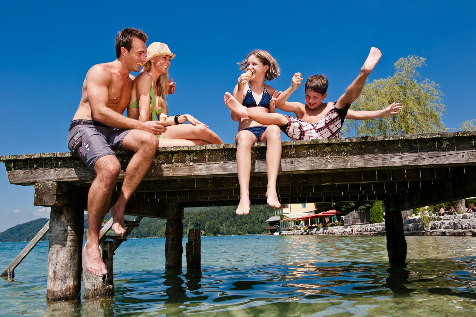 Familienurlaub am Fuschlsee