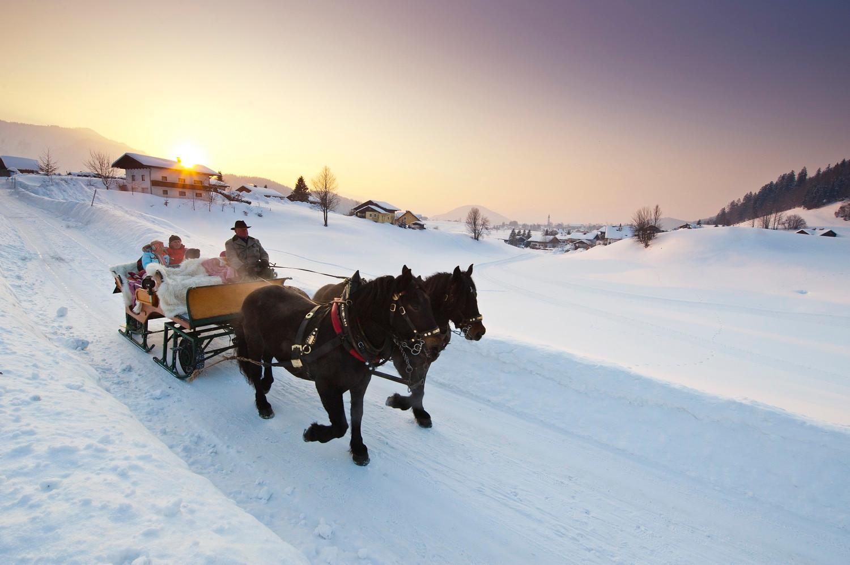 Pferdekutschenfahrt Faistenau(c)Fuschlse