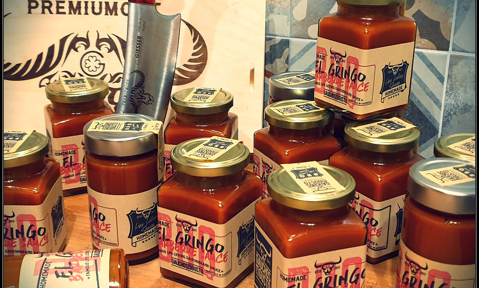 """JACK´N CHILL""  Gauchos Whiskey BBQ Sauce - limited Edition"