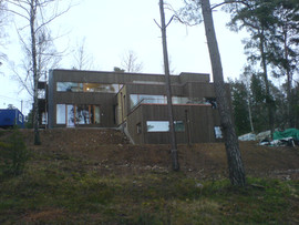Nybyggnad villa
