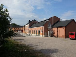Ombyggnad verkstad till ungdomsaktivetetshus