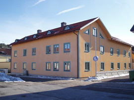 Nybyggnad flerbostadshus