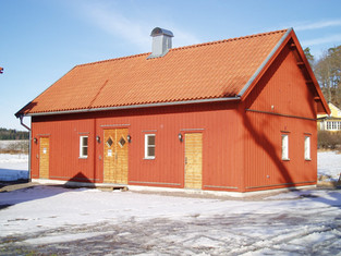 Nybyggnad servicehus