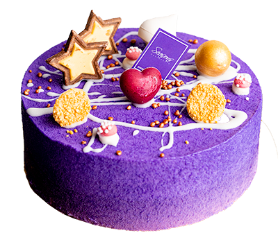 藍莓黑加侖子芝士蛋糕