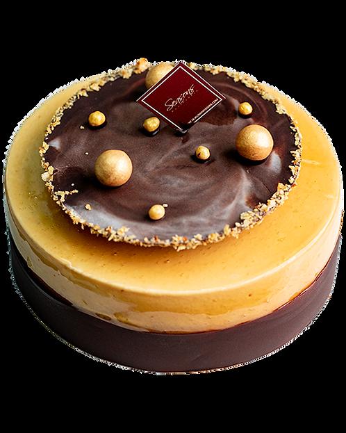 焦糖咖啡朱古力蛋糕