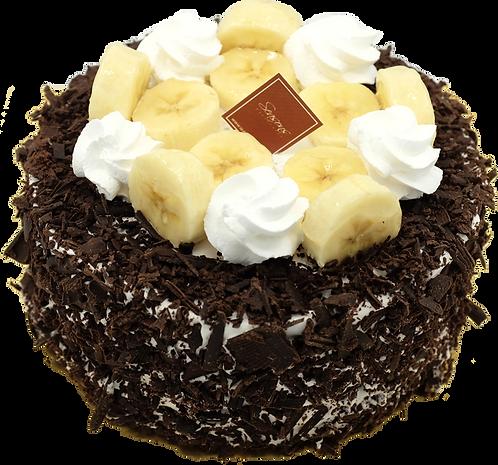 香蕉朱古力蛋糕