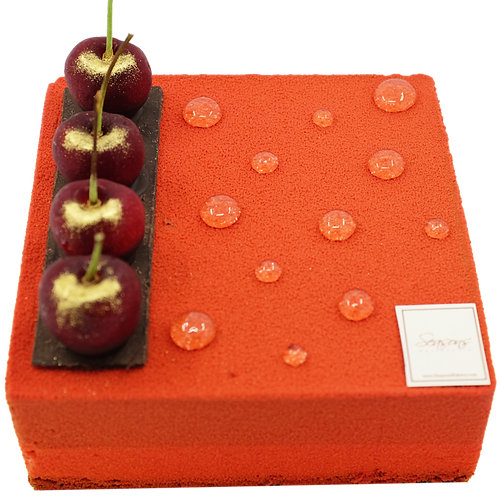紅莓朱古力慕思蛋糕