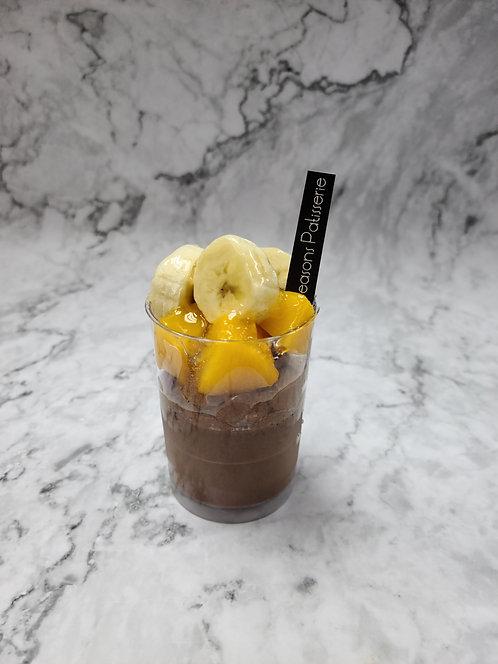 香蕉・蜜桃・朱古力(至少訂4杯)