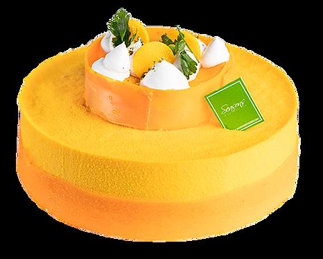 芒果慕絲蛋糕