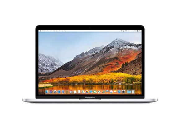 "Apple 13.3"" MacBook Pro Touch Bar Intel Core i5-8259U Silver Office 2016"