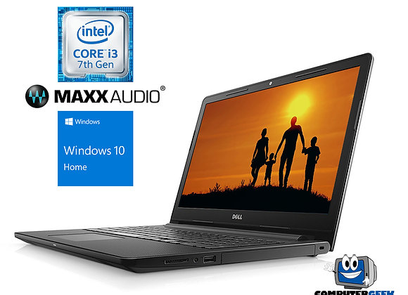 Dell Inspiron 3000 Series 15.6 Intel Dual-Core i3-7130U 2.7GHz, 4GB