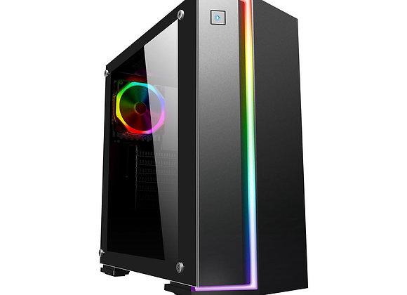 RGB GAMING PC RYZEN 5 2600X 6 Core 3.6 GHz Windows 10 PRO Office 2019