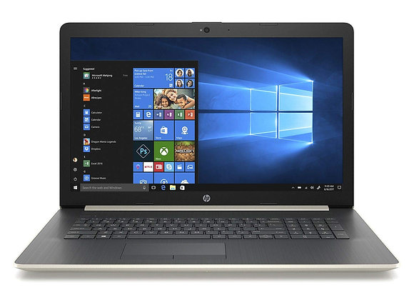 HP 17.3 Laptop Core i7  Up to 4.0 GHz  16GB Ram Windows 10 Office 2019 PRO