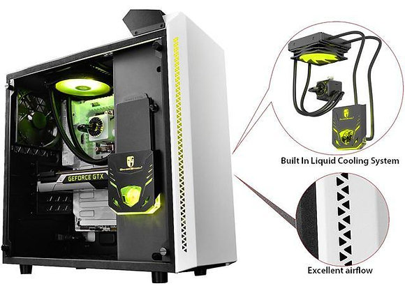 RGB GAMING COMPUTER Intel Core i7-9700K Coffee Lake 8-Core 3.6 GHz 4.9 GHz Turbo