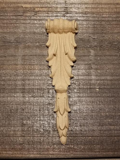 Applique , Wood Ubend Moulding, Carved , Ornate  Drop # 1644