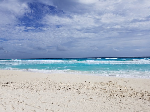 Cancun Sun & Surf #35 - Original Photography. Instant download