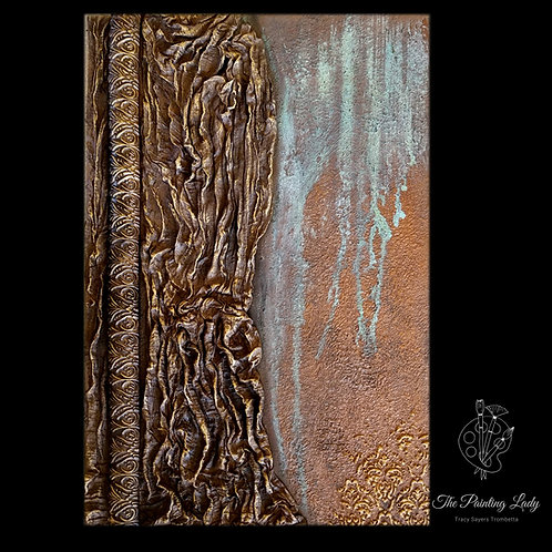 Original Art - Patina/Texture Wall Sculpture