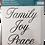 Thumbnail: Family Joy Peace rub on ink transfer
