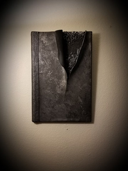 """Torn Metal""  Original 3D Painting/Wall Sculpture"