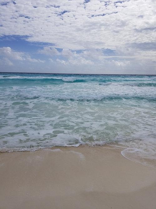 Cancun Sun & Surf #36 - Original Photography. Instant download