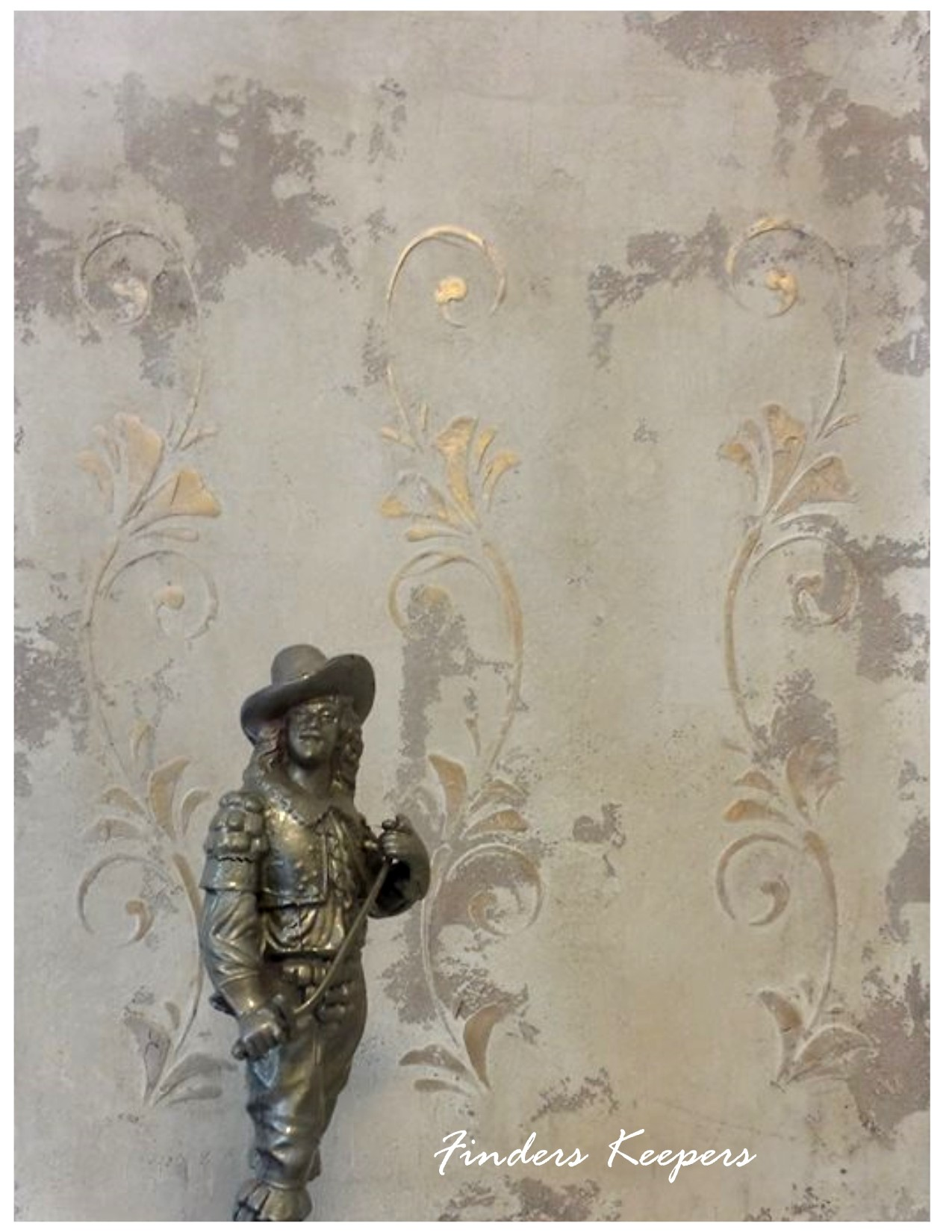 Old World Plaster Stenciling