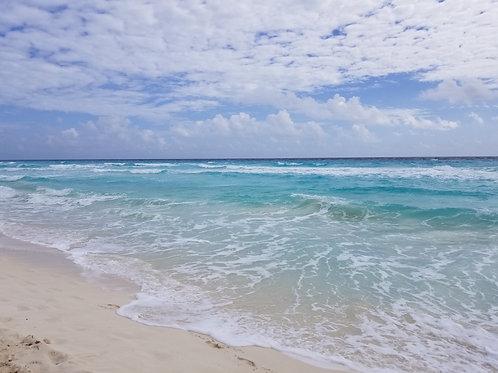 Cancun Sun & Surf #33 - Original Photography. Instant download