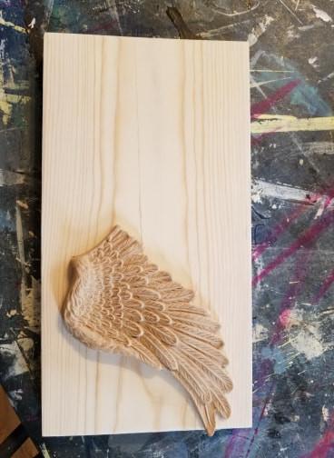 angel wings applique woodubend