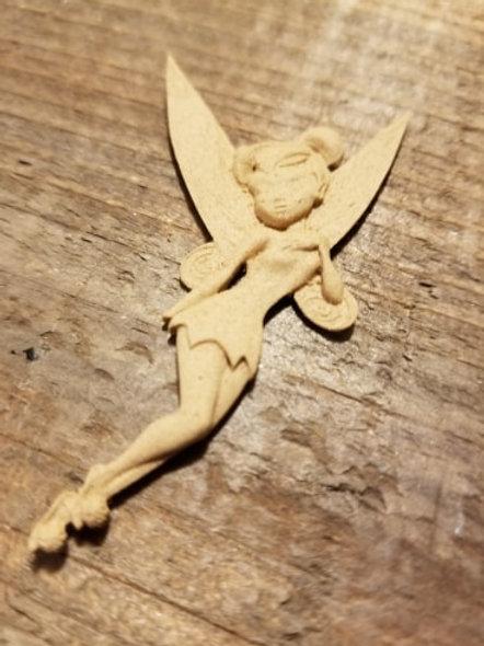 Fairy Applique # 2121 (2.5 x 1.25 inches) WoodUbend