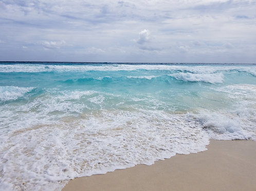 Cancun Sun & Surf #31 - Original Photography. Instant download