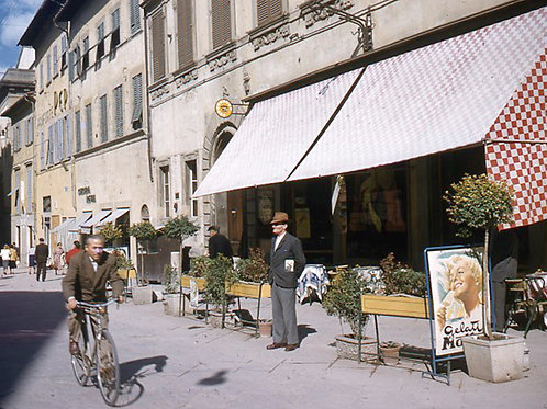 Vintage Europe La Turbia French Riviera - Original Photography. Instant download