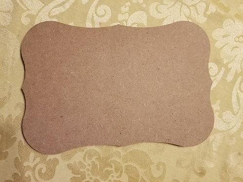 Roman Plaque MDF 10.4x7.1 inches