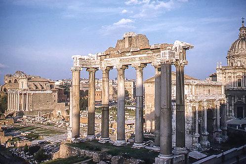 Vintage Europe Roman Forum Ruins #1- Original Photography. Instant