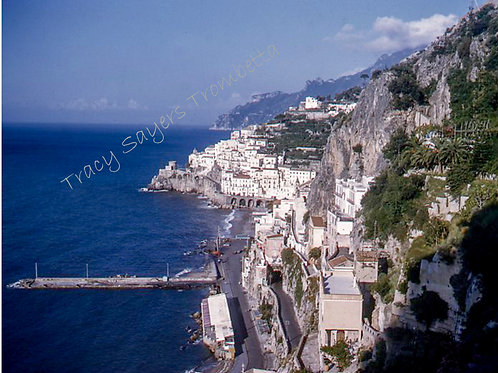 Vintage Europe Amalfi Drive #1 - Original Photography. Instant downl