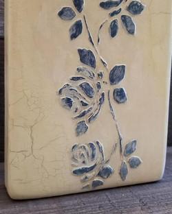 Wedgewood Blue Roses - painting