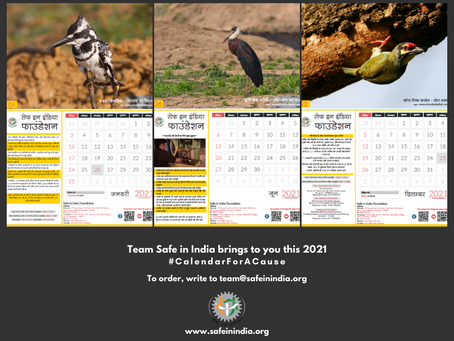Birds chirp ESIC information; A 2021 Calendar for workers. Help it fly!
