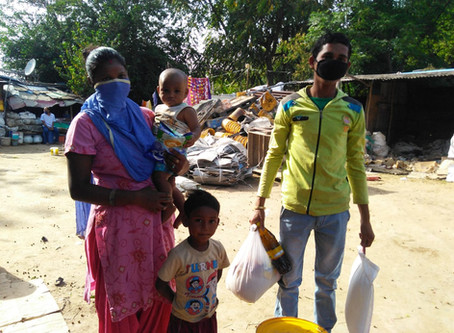 Safe in India-Manzil 3rd week update for COVID19 worker relief: Please spread the word for support