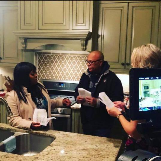 Director Ty Manns, Keisha Knight-Pulliam & Shannen Fields