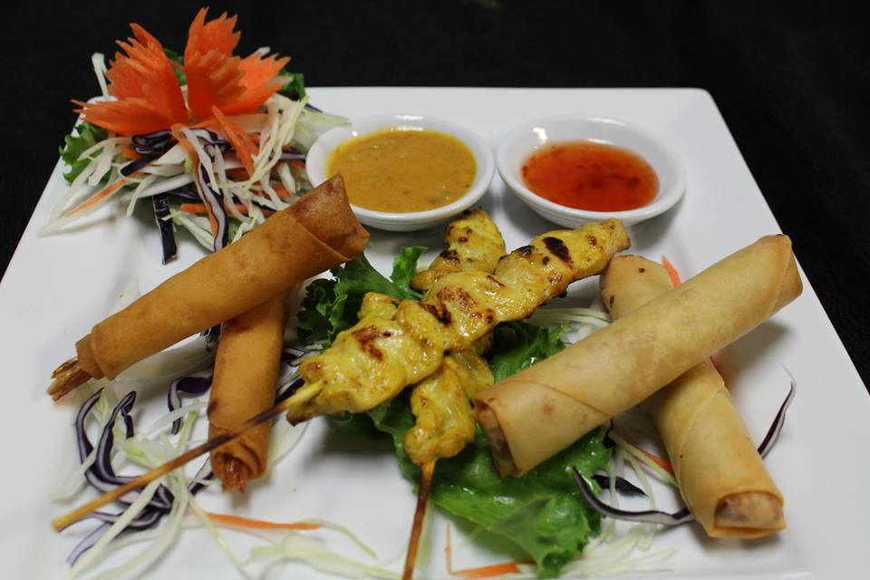 A10. My Thai Village Platter