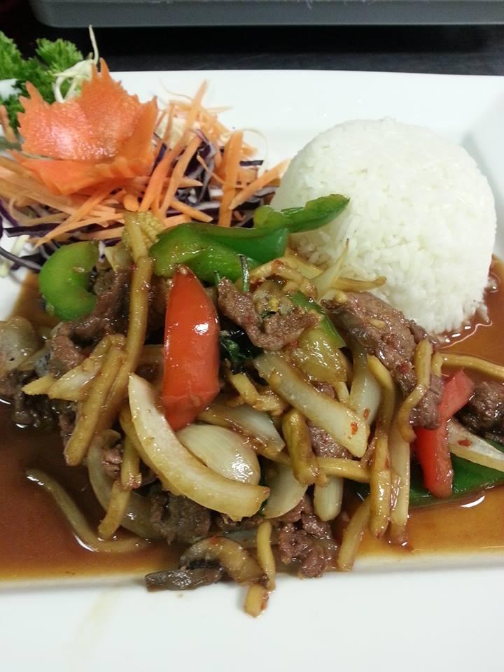 P4. Pad Khing (Beef)