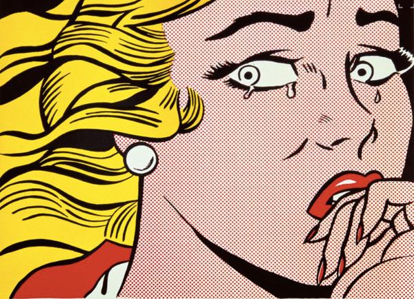 Lichtenstein, Frighten Girl, 1966