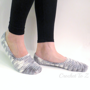 Women's Slipper Socks - Free Crochet Pattern