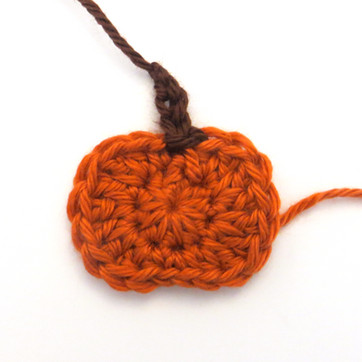 Small Pumpkin Applique