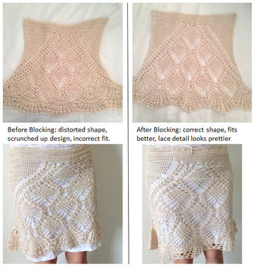 Crochet Blocking