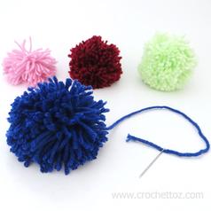 How To Make A Yarn Pom Pom