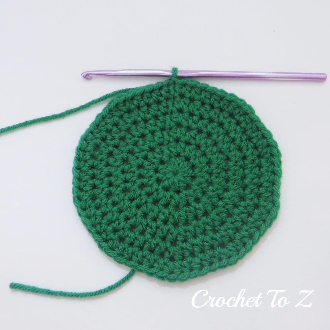 Half Double Crochet Stitch Diagram